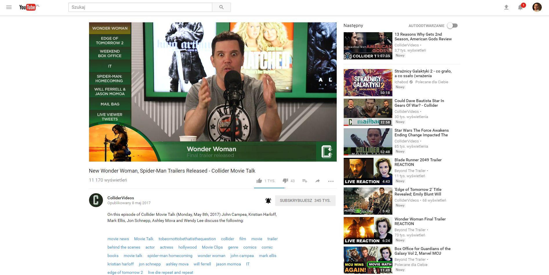 Biały youtube - jak wrócić