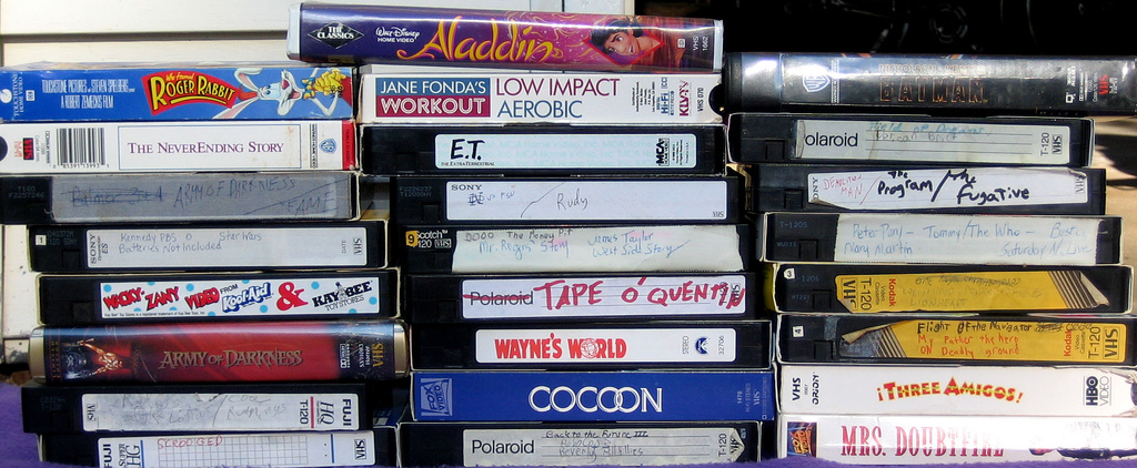 Upadek piractwa - VHS