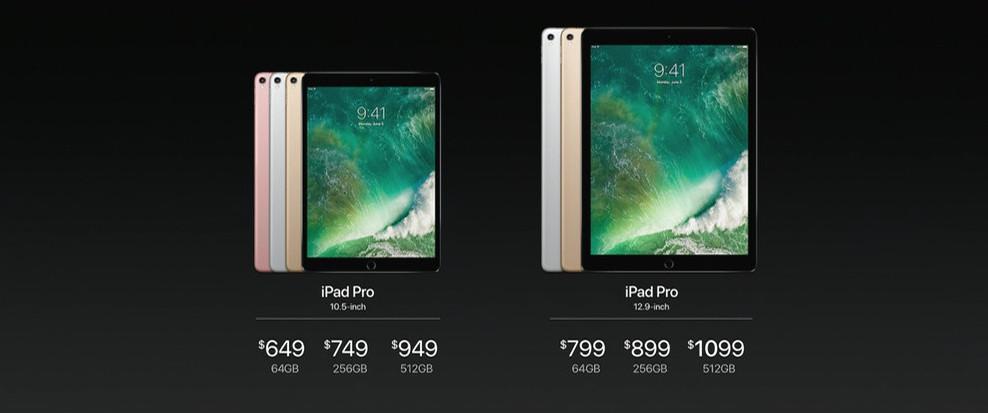WWDC 2017 - iPad Pro 2017 ijego cena