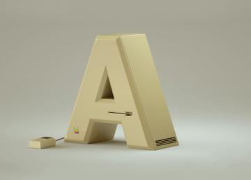 """""""Markowy"""" font – ciekawa interpretacja kultowych urządzeń"""