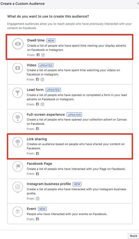 Facebook - nowa grupa odbiorców reklam