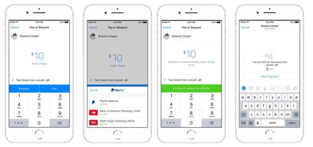 PayPal w Messengerze