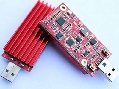 FPGA miner USB stick