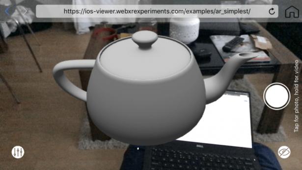 WebXR View