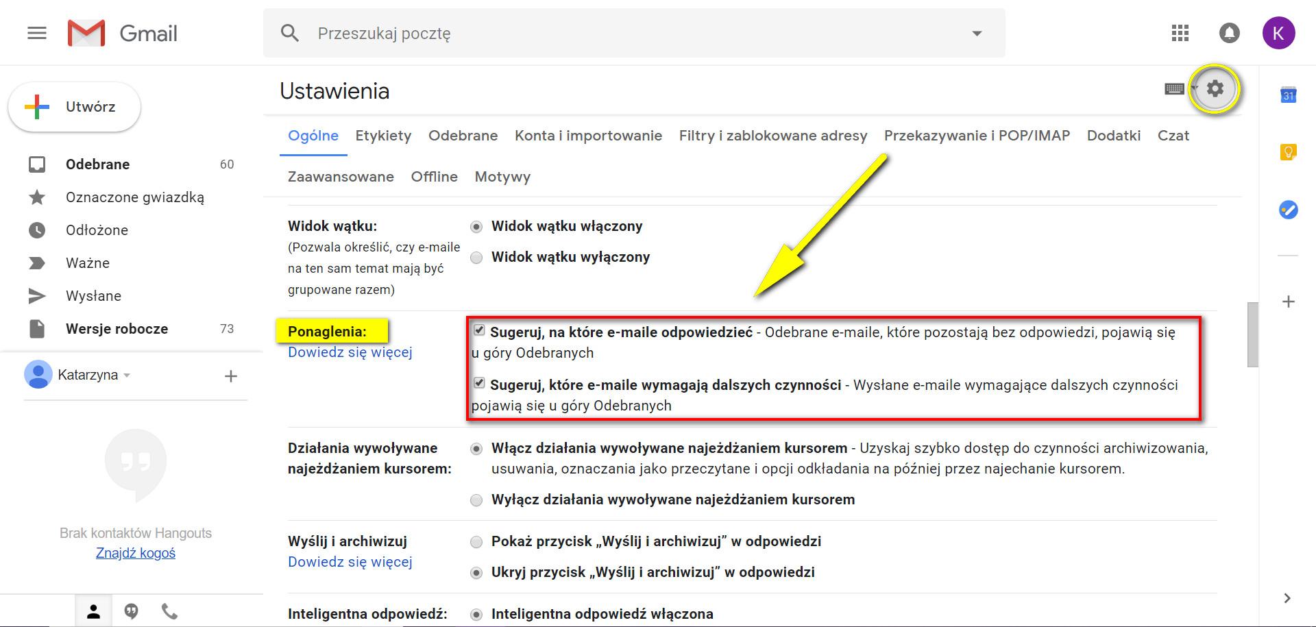 Gmail Ponaglenia