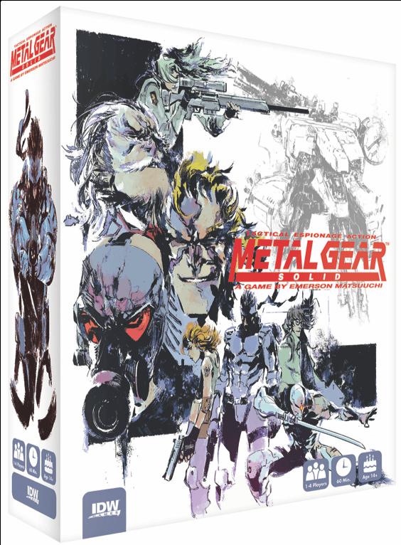 Metal Gear Solid gra planszowa