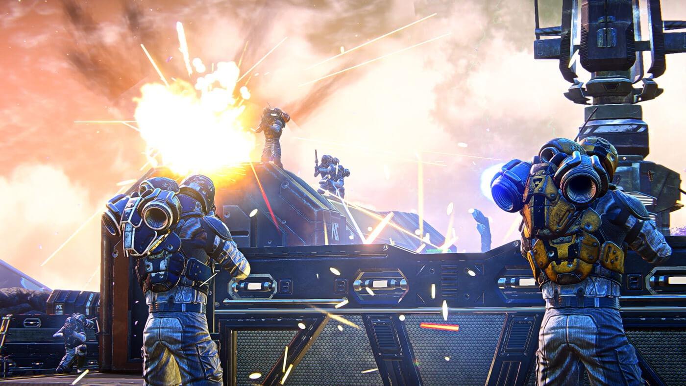 PlanetSide Arena zapowiedź gry