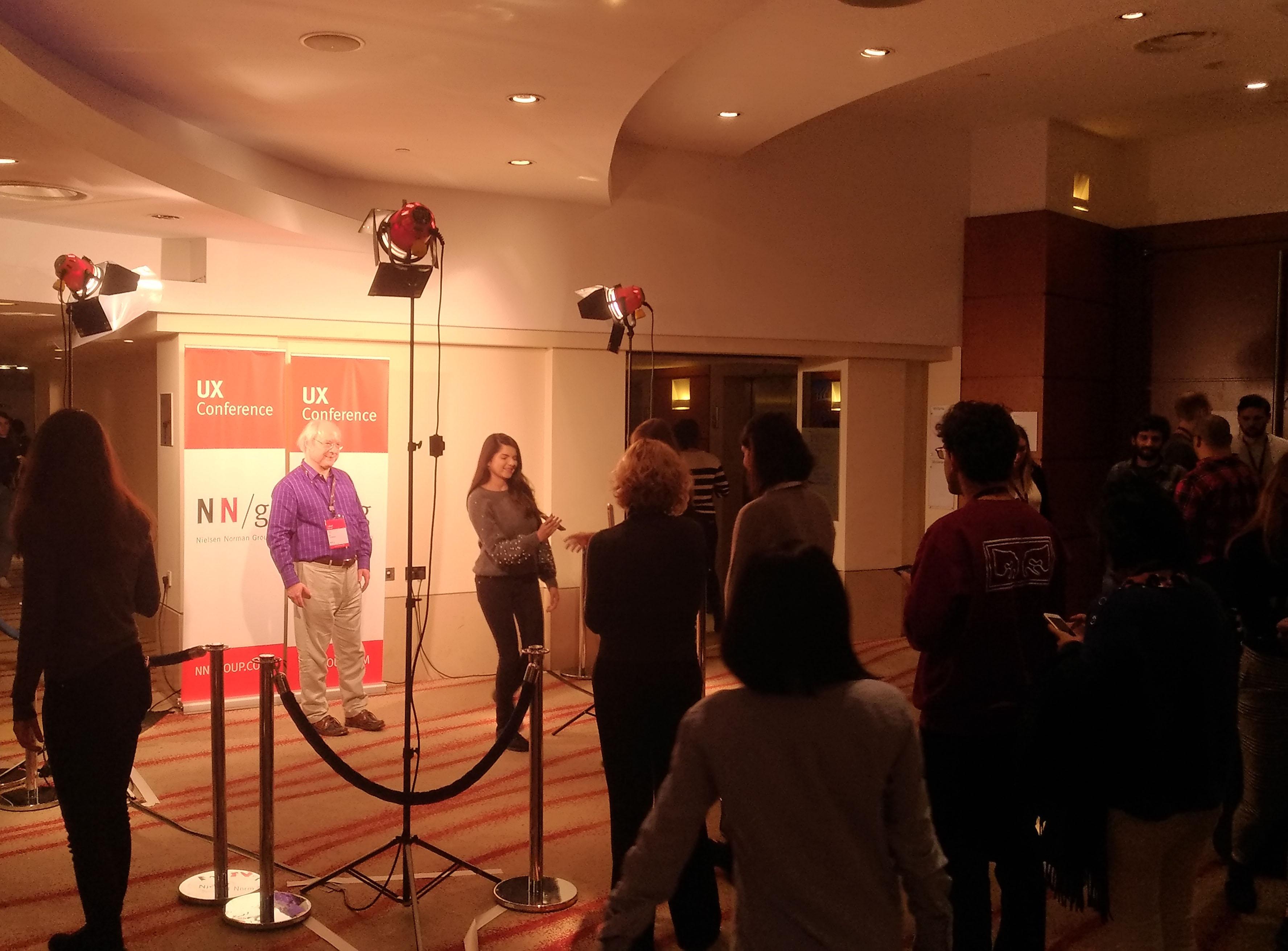 Jak w Hollywood – każdy chciał mieć zdjęcie z ikoną UX, Jacobem Nielsenem