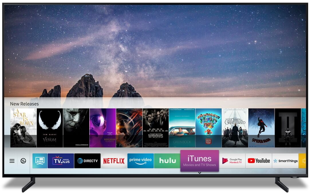 Apple AirPlay 2 na Samsungu