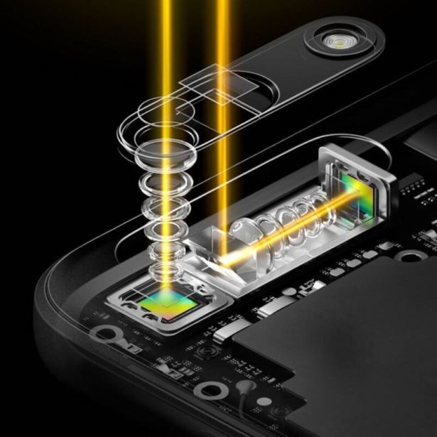 World s first periscope style dual camera technology.0