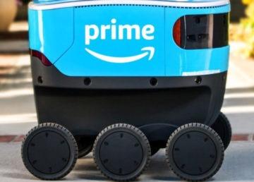 Amazon opublikował video z robotem, który dostarcza paczki