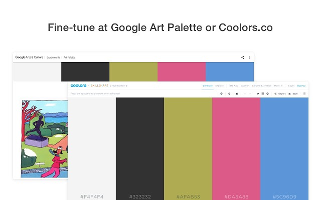 Chrome Site Palette