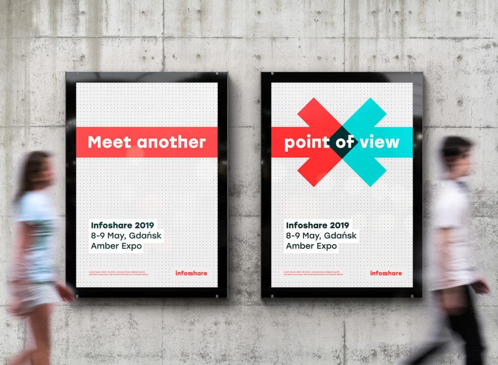 Infoshare plakaty