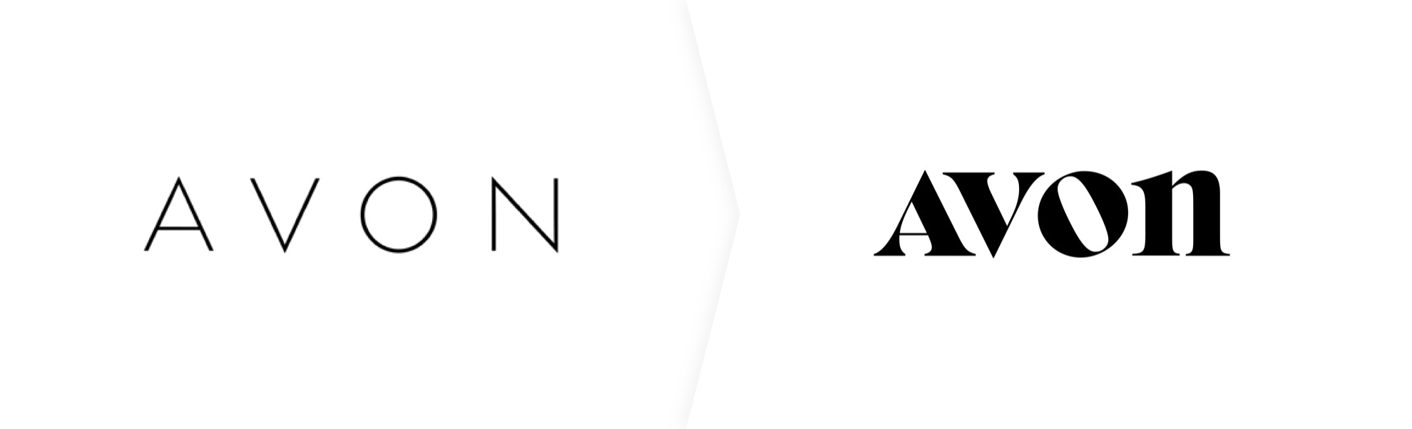 stare i nowe logo Avon