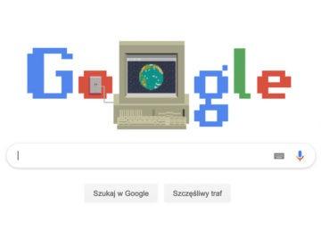 30 lat minęło - WWW świętuje swoje urodziny, zobacz Google Doodle z tej okazji