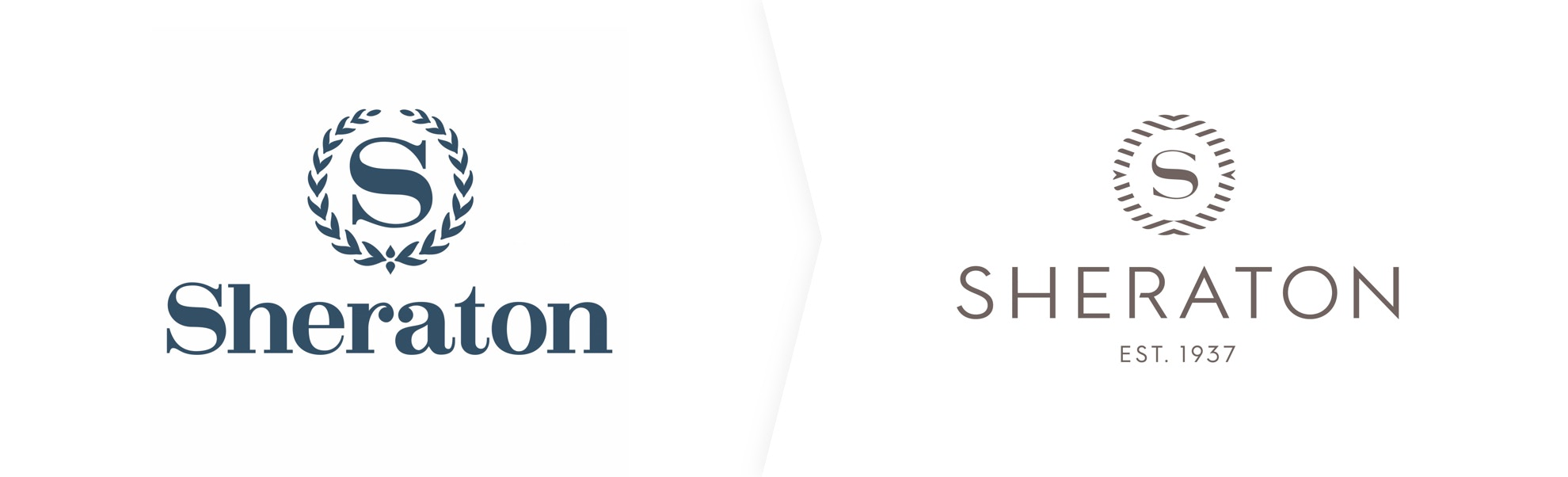 stare i nowe logo Sheratona
