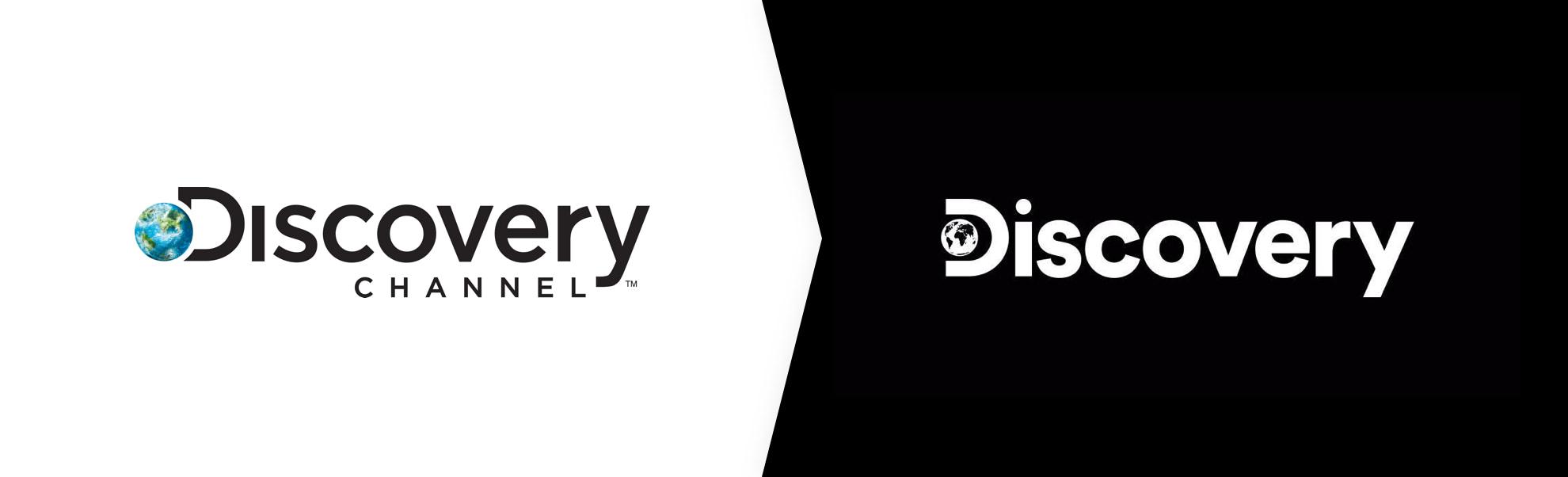 stare i nowe logo Discovery