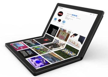 Lenovo pokazuje pierwszego laptopa ze składanym ekranem