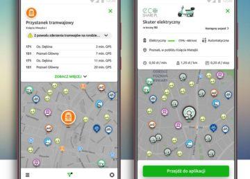 Take&drive – komunikacja miejska i pojazdy współdzielone w jednej aplikacji