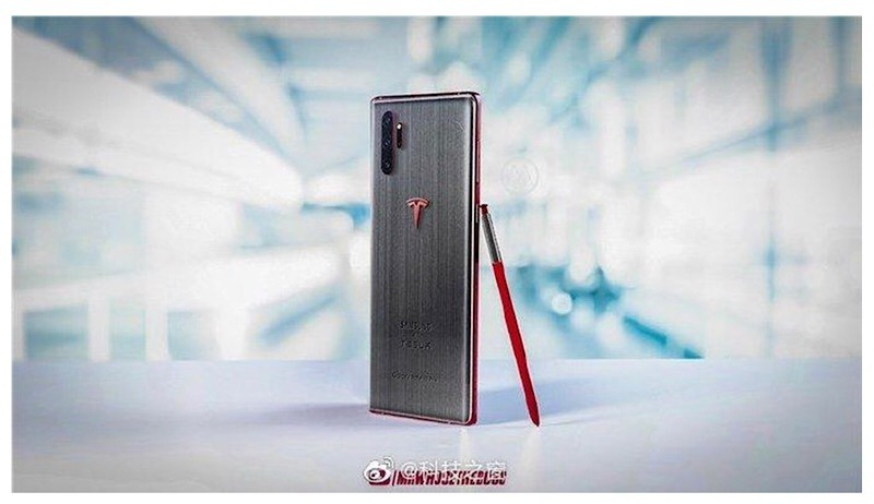 Samsung Galaxy Note 10 Tesla
