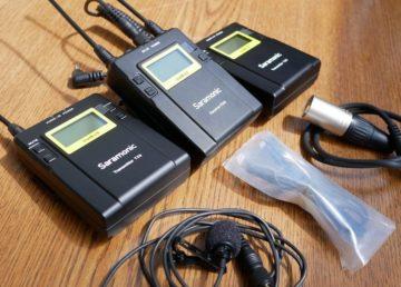 Dostałem od Saramonic  zestaw sprzętu do nagrywania audio. Przed Wami UwMIC9 Kit2 i Kit12 wraz z HU9
