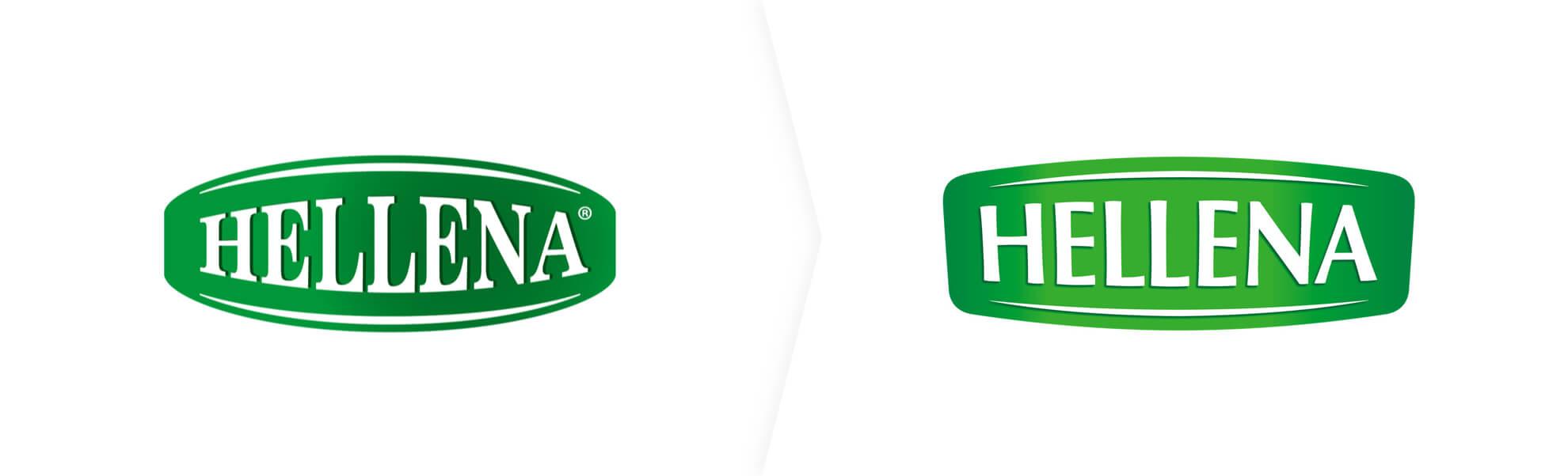 Stare i nowe logo Helleny