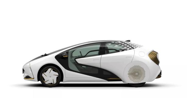 pojazd elektryczny toyoty