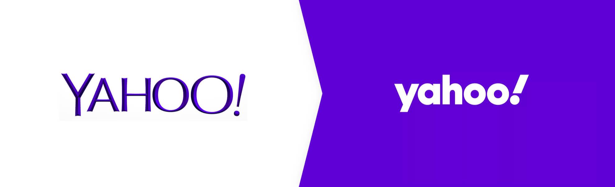 stare i nowe logo Yahoo!