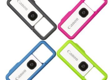 Canon Ivy Rec to mała i wesoła kamera sportowa, jest też wytrzymała i obsługiwana smartfonem