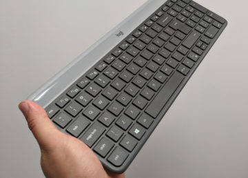 Logitech MK470 to piękny zestaw klawiatura + mysz za rozsądne pieniądze
