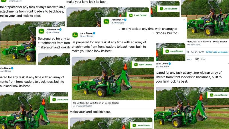 twitter oblężony reklamami