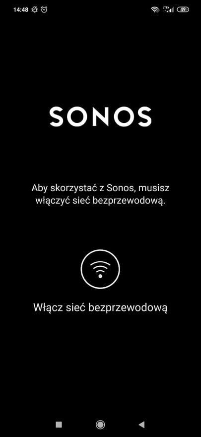 aplikacja sonos
