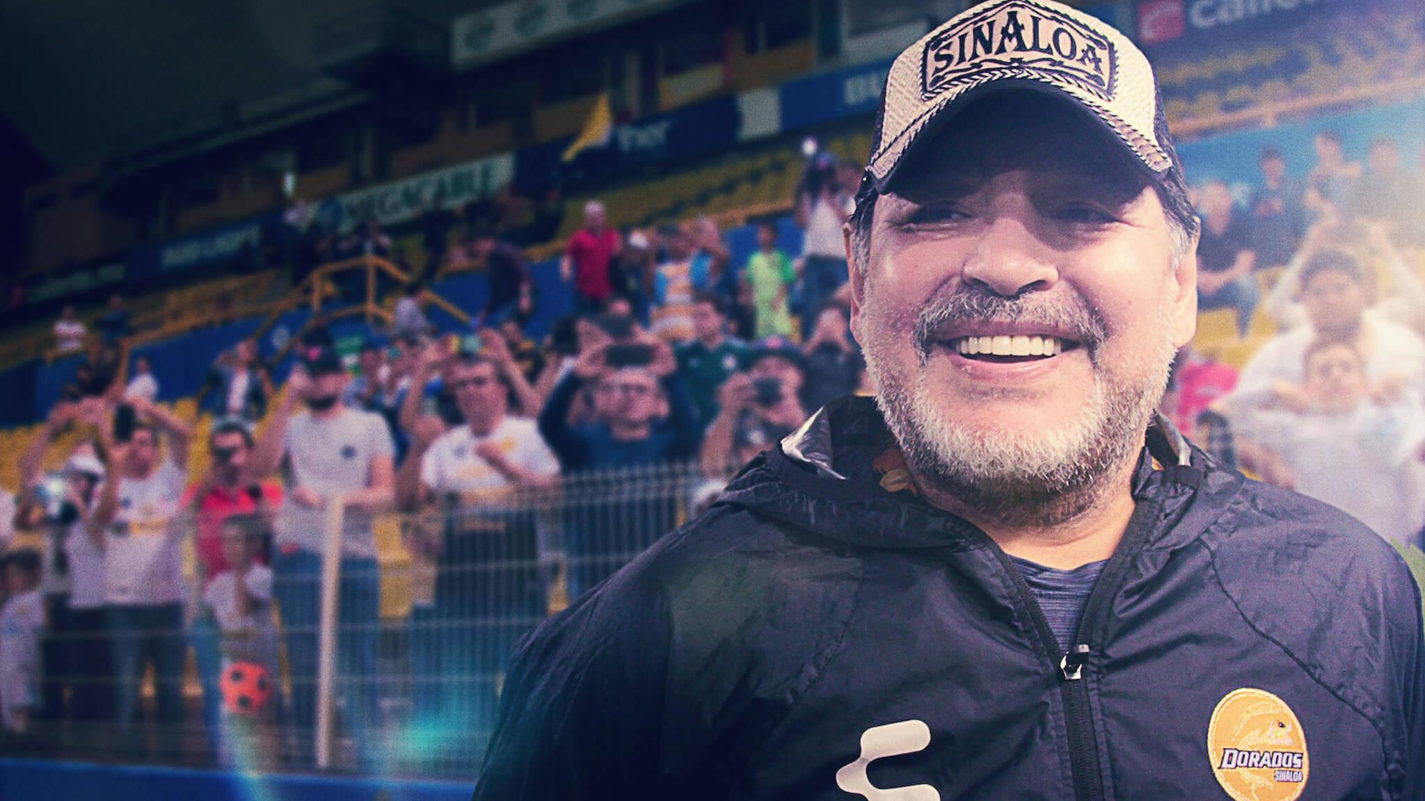Maradona w Meksyku