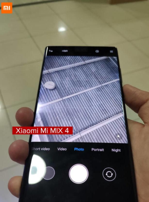 Xiaomi kamera Mi Mix 4 2