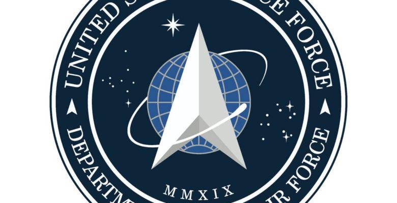 logo kosmicznego wojska US Space Force