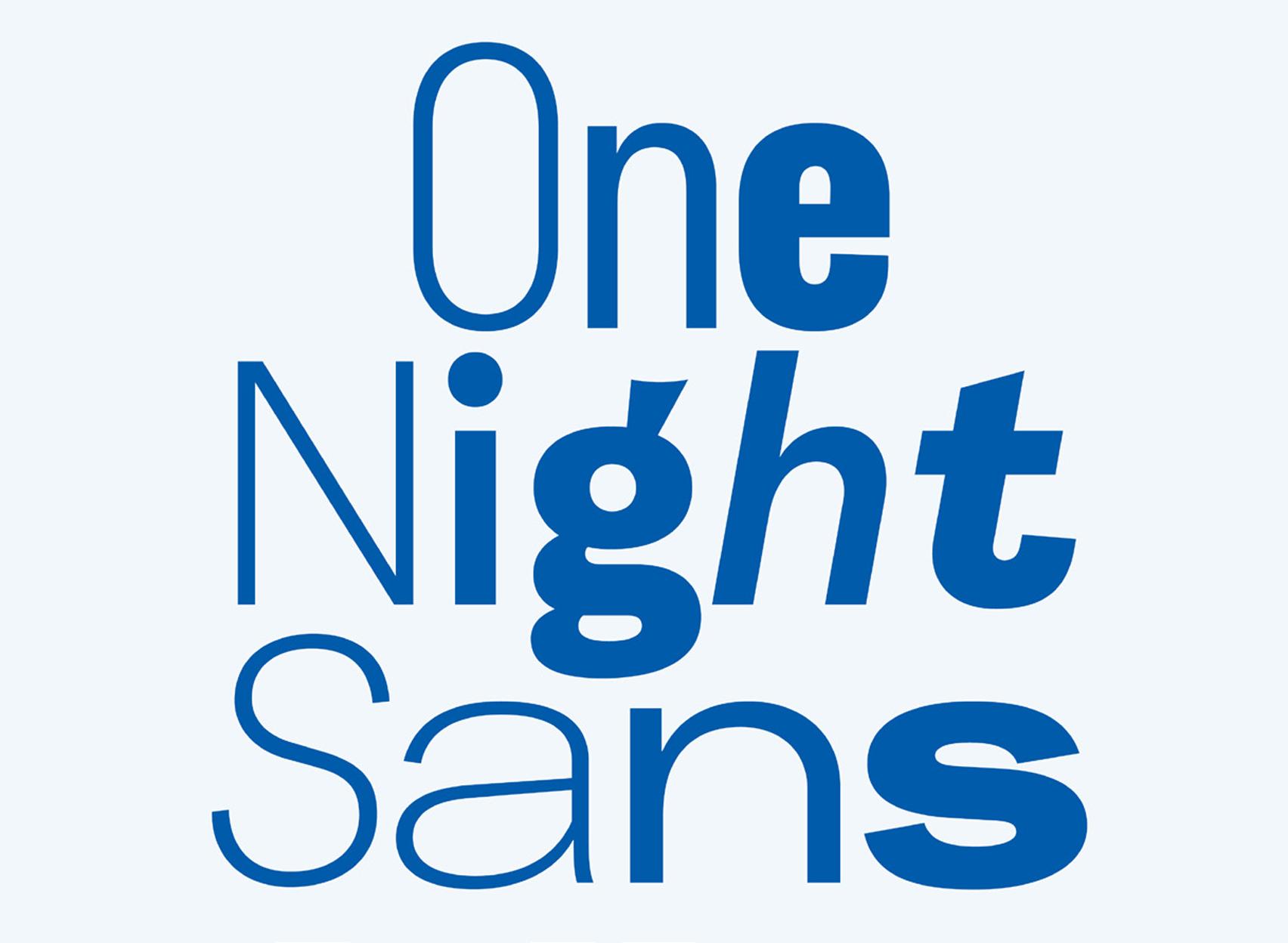 one night sans.– nowy font korporacyjny firmy durex