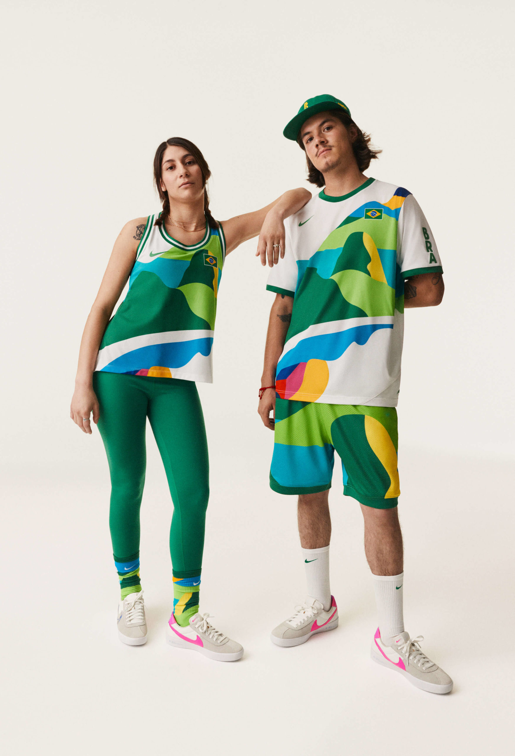 nike strój brazylia