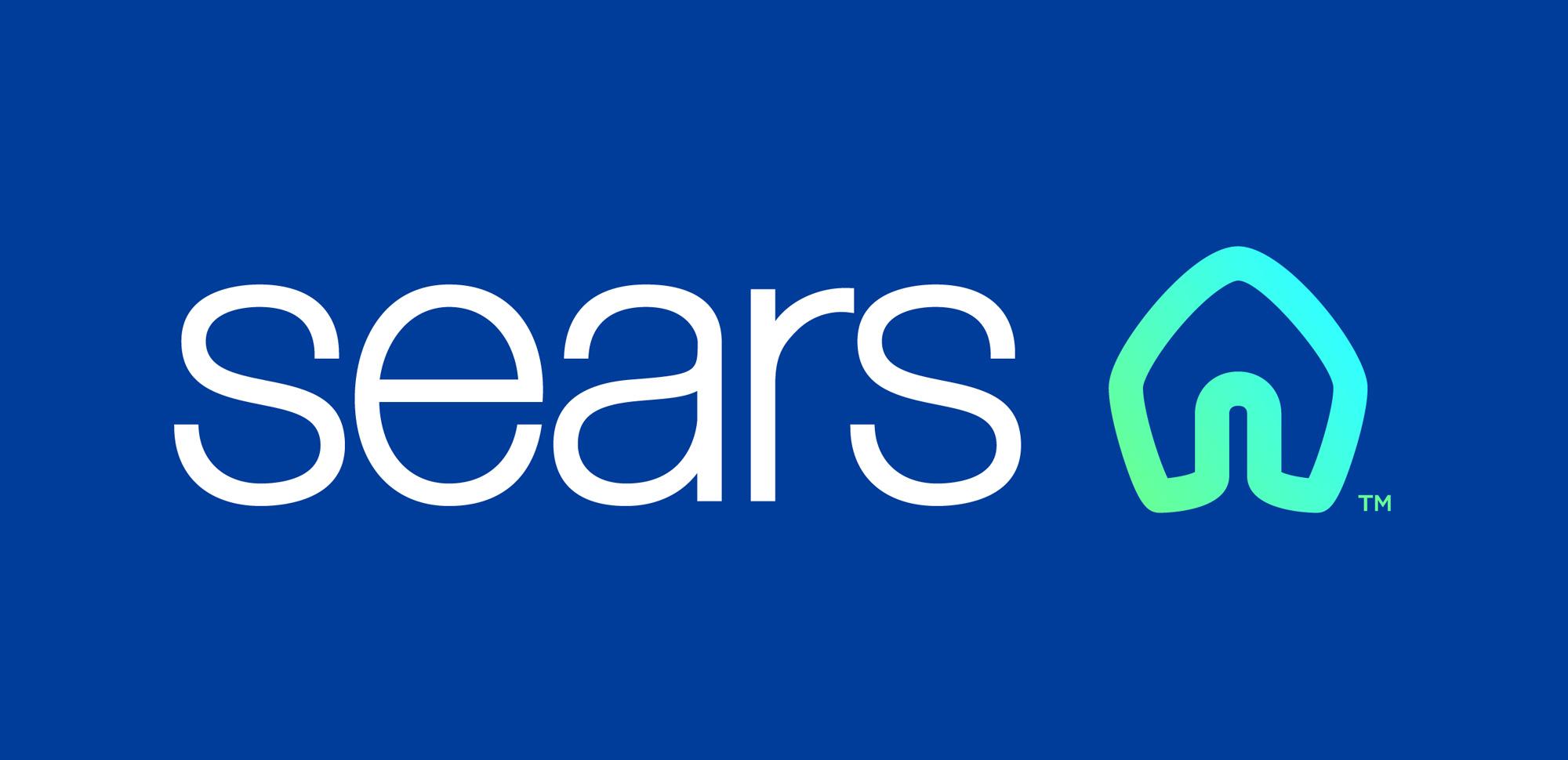 sears logo w kontrze