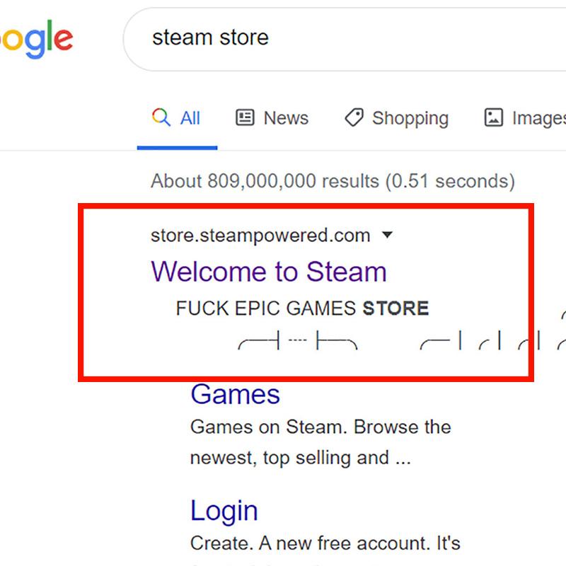 """Steam się nie szczypie - otwarta walka z Epic? """"F*ck Epic Games Store"""""""