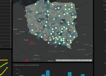 Polska wersja cyfrowej mapy koronawirusa już dostępna