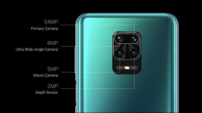 aparat Redmi Note 9 Pro