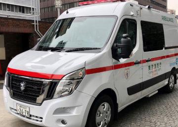 Po Tokio będzie jeździł elektryczny ambulans