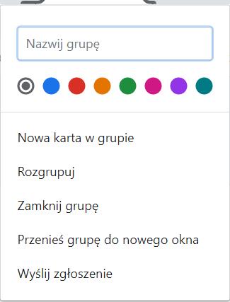 grupki kolor