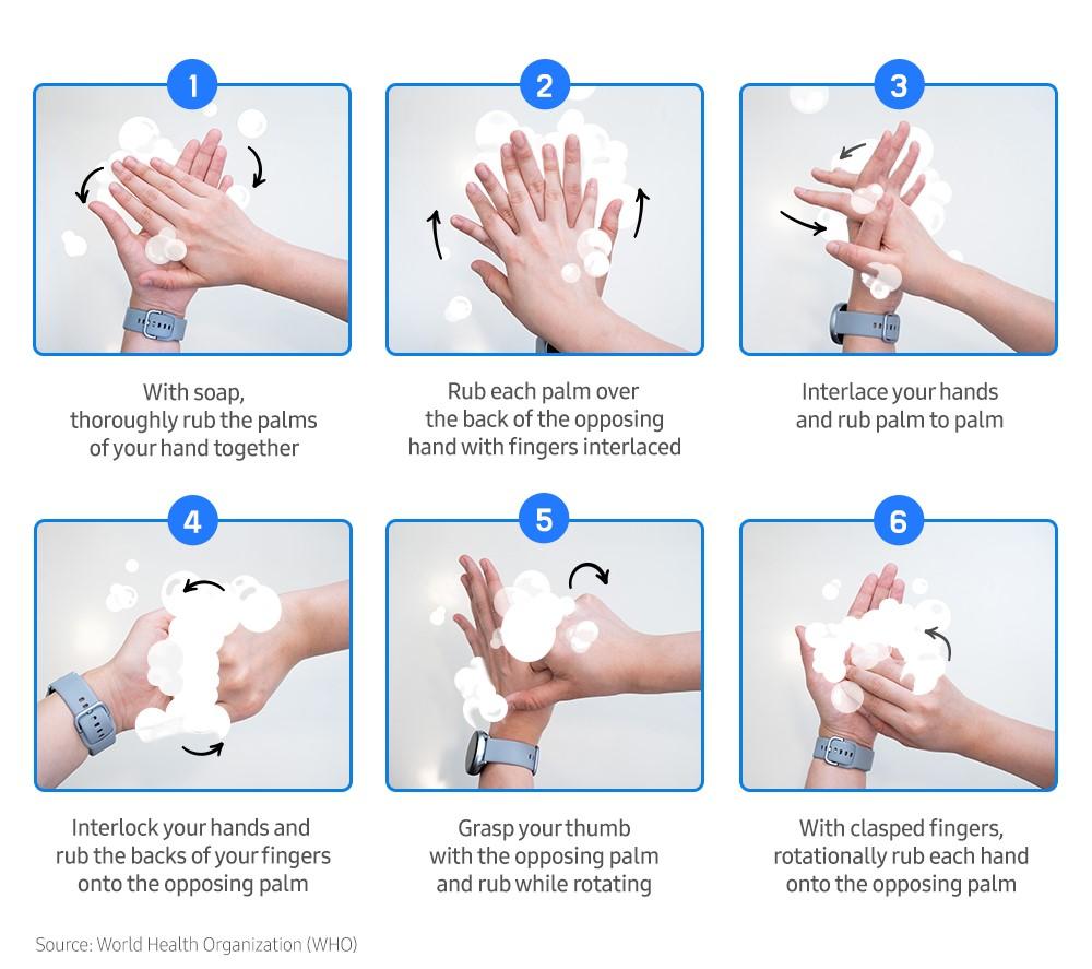 Galaxy Watch Handwash app main 8