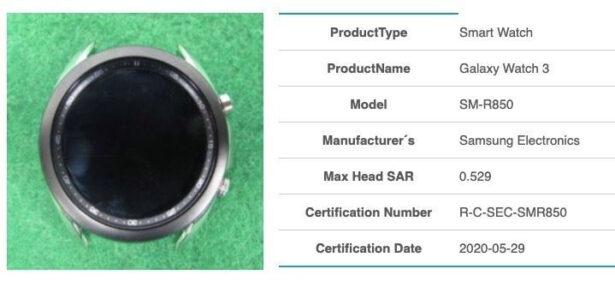 Galaxy Watch 3 SM R850