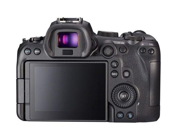 canon eos r6 ekran