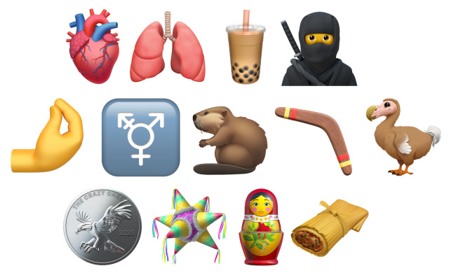 nowe emoji w ios 14