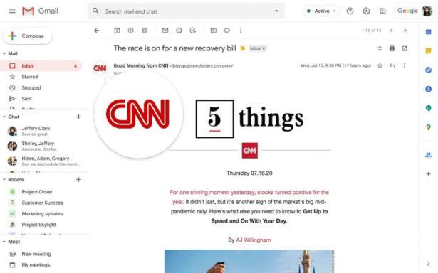 Nowe funkcje bezpieczeństwa w Gmail