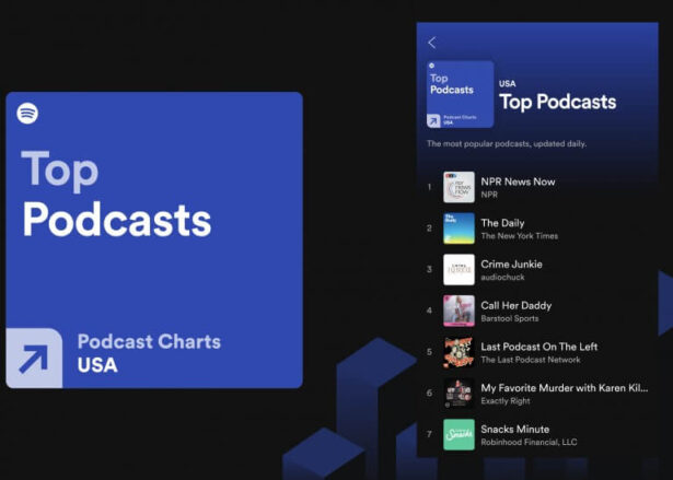 spotify top podcasts