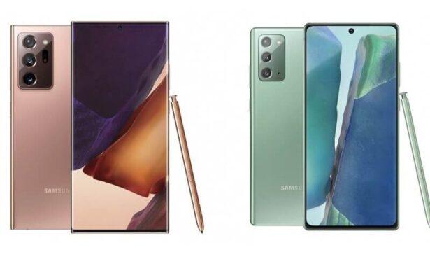 Samsung Galaxy Note 20 oraz Samsung Galaxy Note 20 Ultra